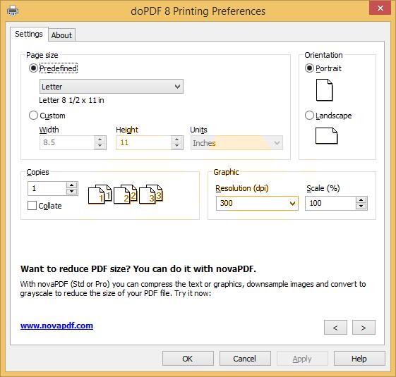 doPDF 8.1 Build 921