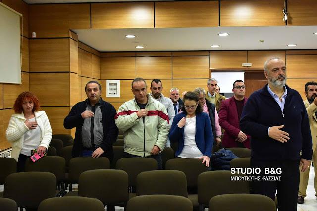 Η Ένωση Γραφείων Κηδειών Πελοποννήσου έκοψε βασιλόπιτα και ευχήθηκε καλές δουλειές  (video) DSC 4400PITA