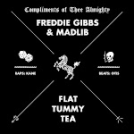 Freddie Gibbs & Madlib - Flat Tummy Tea - Single Cover