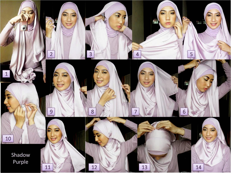 30 Cara Mudah Dan Praktis Memakai Hijab Pashmina Terbaru