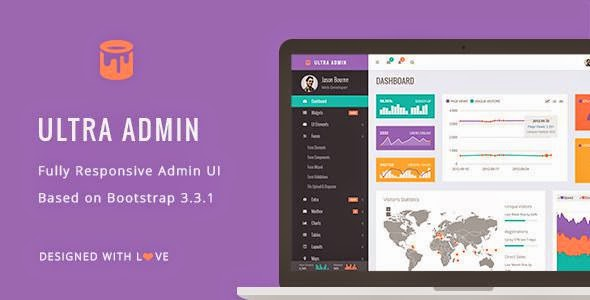 Ultra Admin Bootstrap Theme