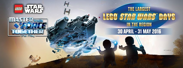 Master Your Force this May with The LEGO® Group and LEGOLAND® Malaysia Resort 2