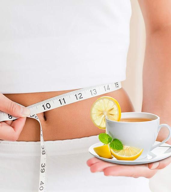 receta de té de limón para bajar de peso