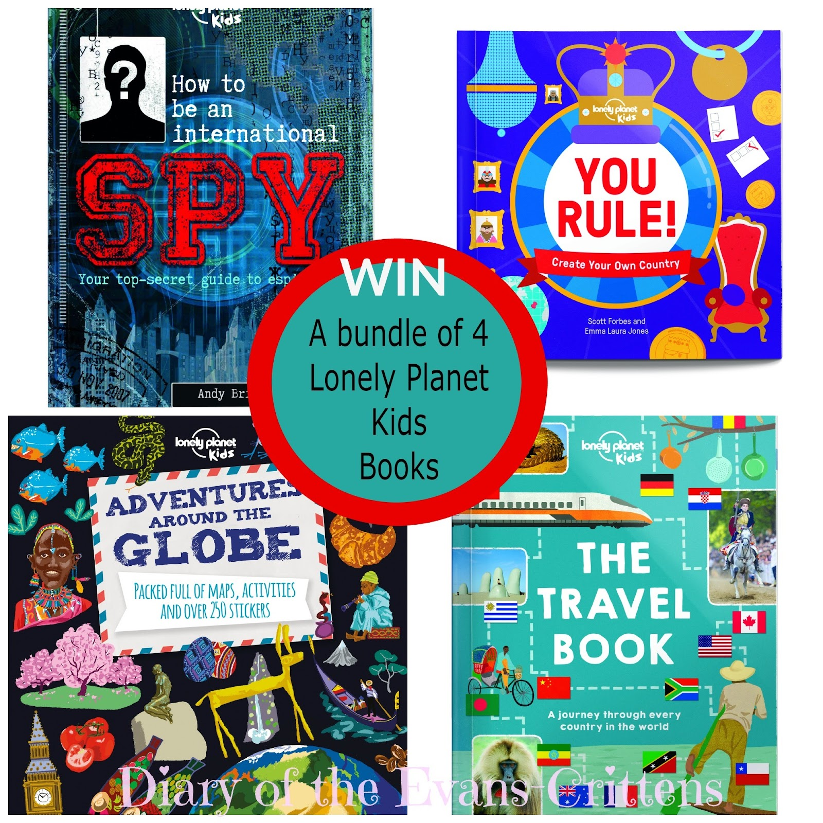 , Lonely Planet Kids:  Bundle of Travel Books Giveaway and 25% Discount Offer