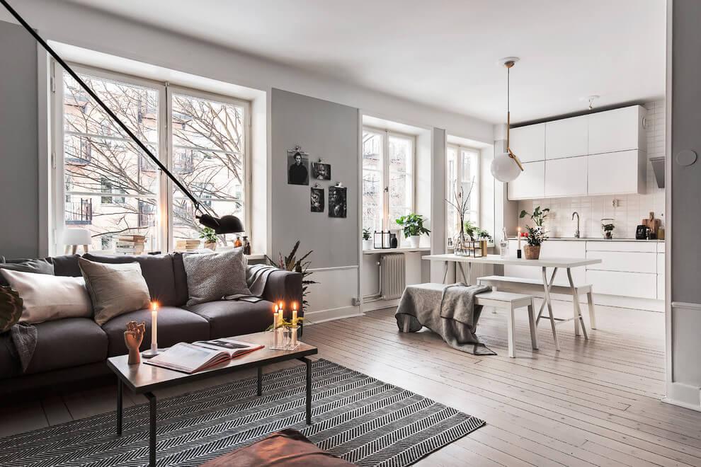 Un appartamento in stile scandinavo a stoccolma coffee break the