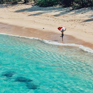 pantai ngudel malang jawatimur indonesia asia
