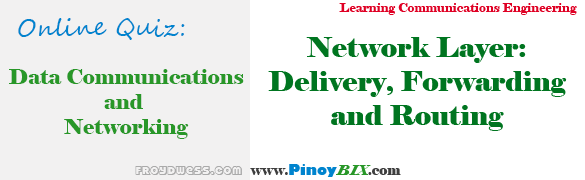 Practice Quiz in Network Layer: Delivery, Forwarding and Routing