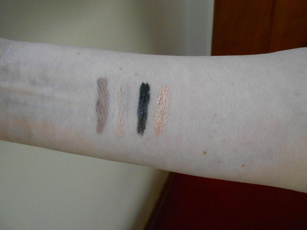 Rouge Bunny Rouge Silk Aether Cream Eye Shadows swatches