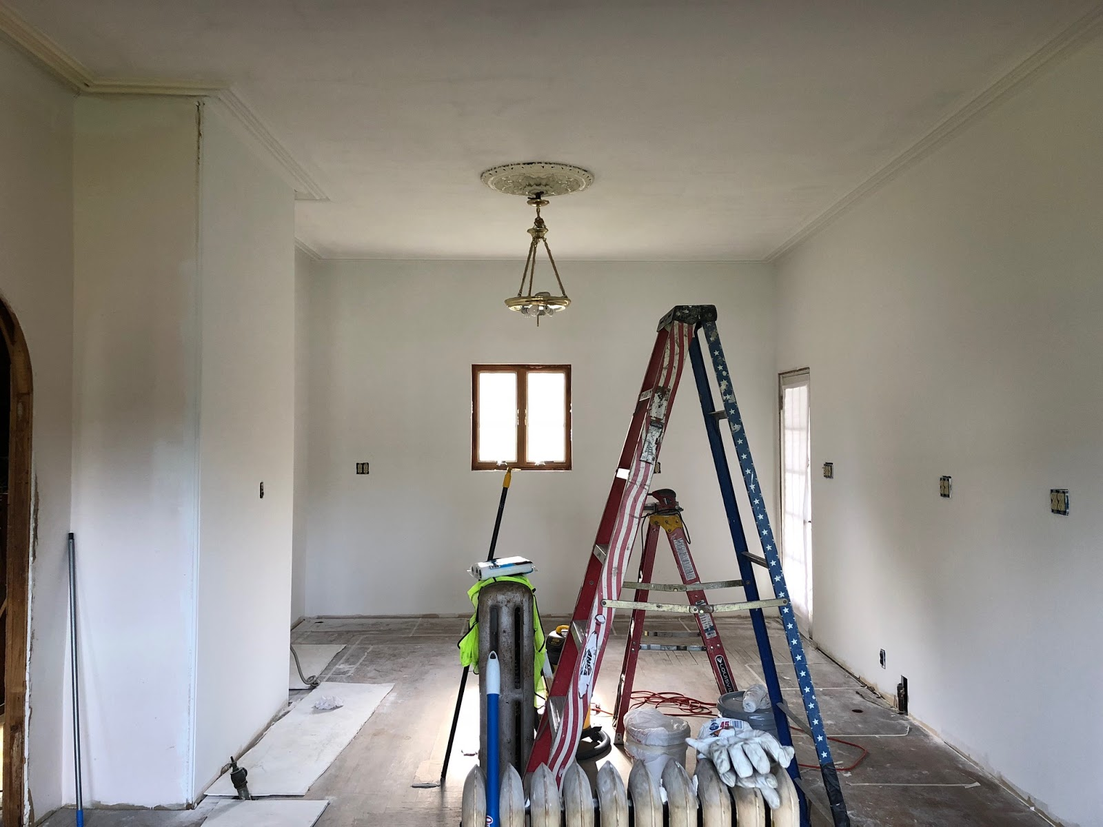 Its Current State, Walls And Ceiling Have Been Skim Coated