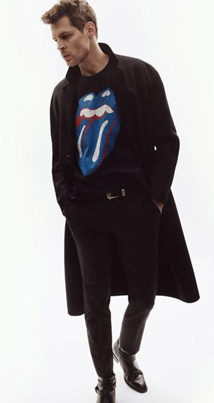 colección ropa Rolling Stones Zara