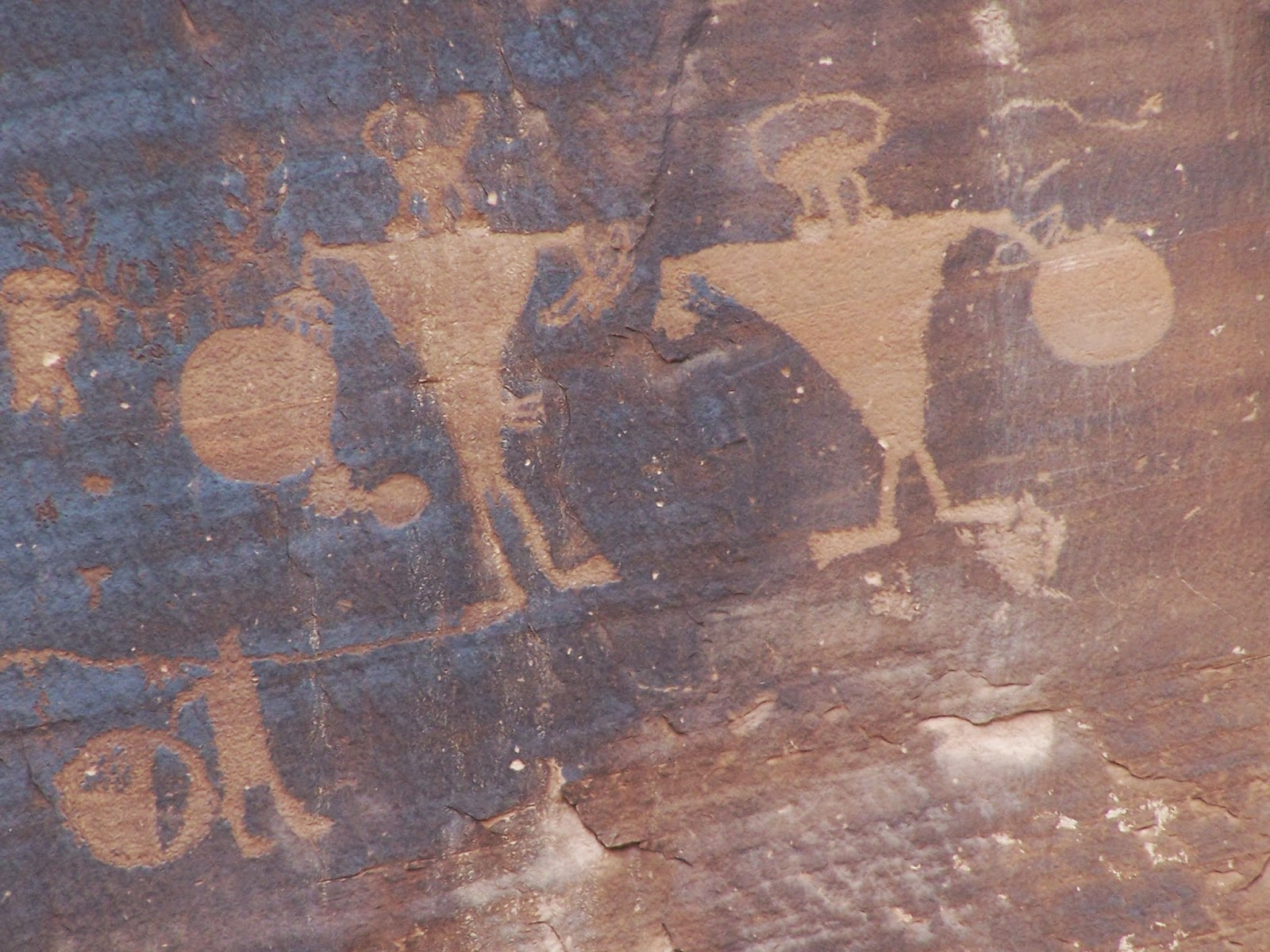 The Sayre Rv Odyssey Native American Rock Art Near Moab Utah