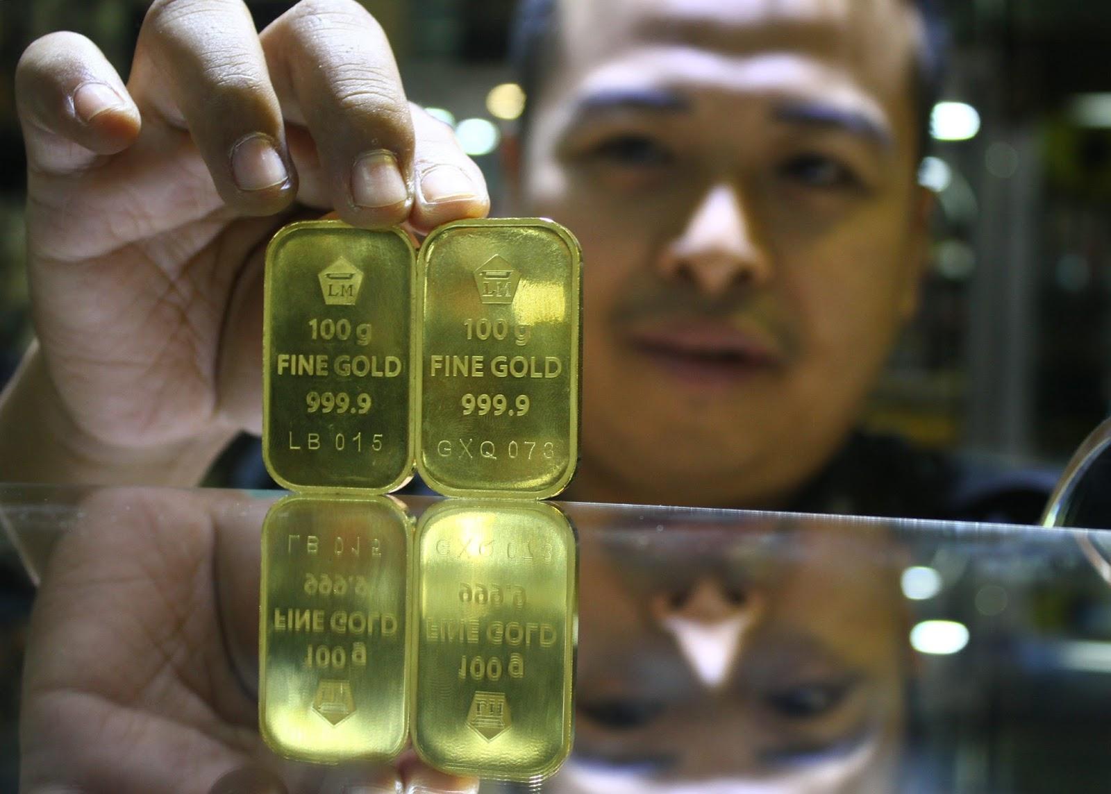 Pinjam Duit Online: Cek Harga Emas Batangan untuk ...