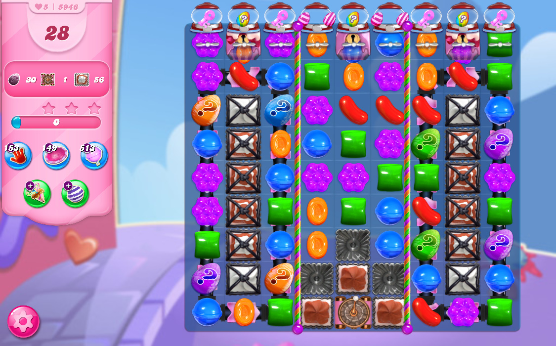 Candy Crush Saga level 5946