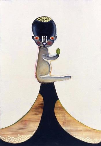 Izumi Kato - Untitled - 2006 | imagenes de obras de arte contemporaneo tristes, lindas, de soledad | cuadros, pinturas, oleos, canvas art pictures, sad | kunst | peintures