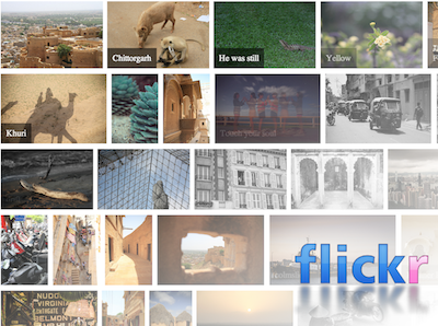 Flickr Photo Gallery