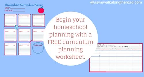 Printables Homeschool Curriculum Free Worksheets plan this school years homeschool curriculum with free planning worksheet