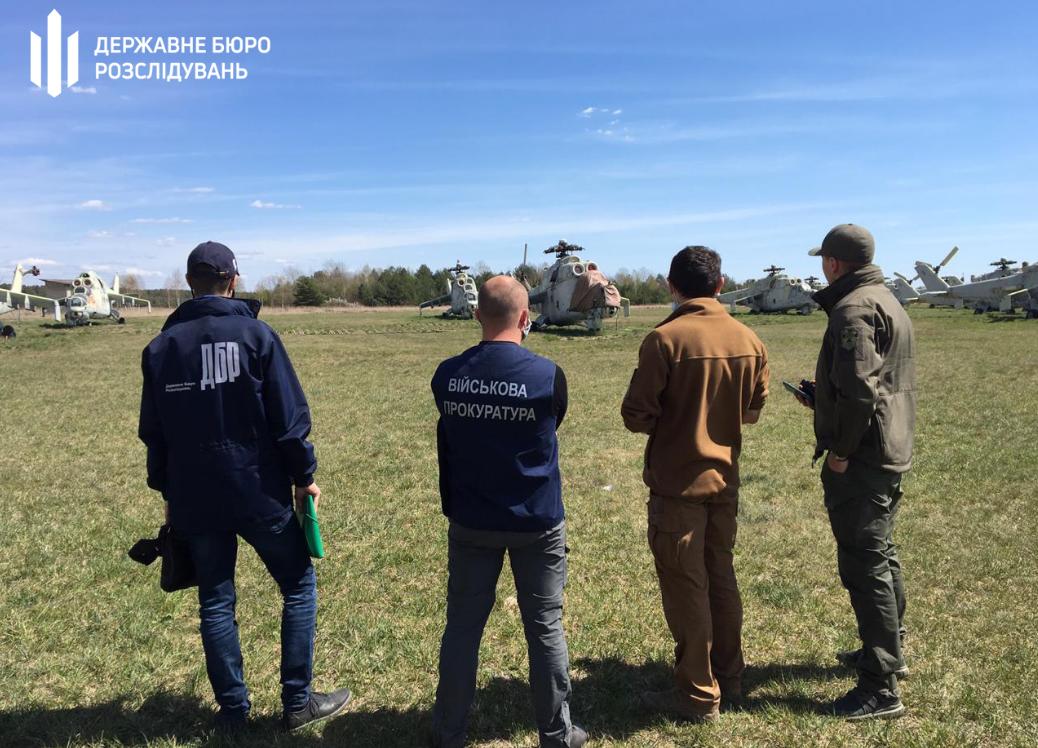 Військові на Львівщині розікрали гелікоптери Мі-8 і Мі-24