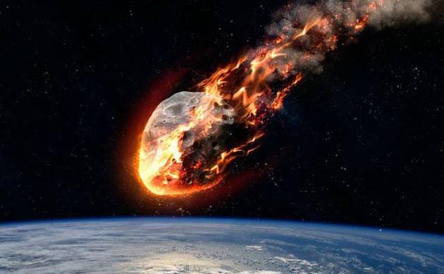 Meteor Jatuh ke Bumi