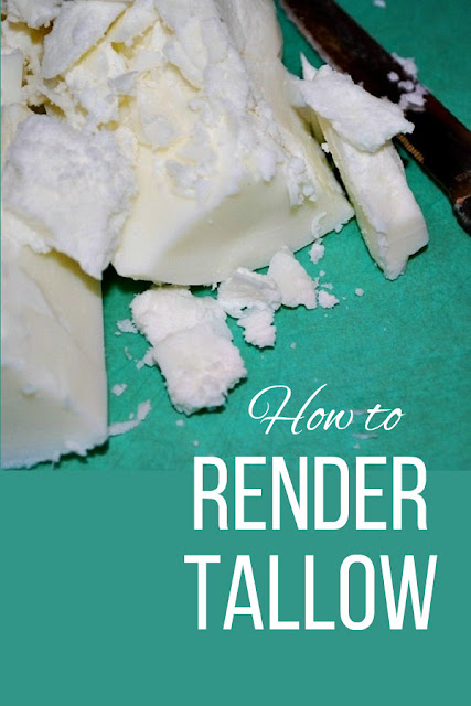 Here's how to turn beef fat into pure tallow to use in the kitchen or in soapmaking.