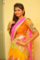 Lucky Sree in dasling Pink Saree and Orange Choli DSC 0363 1600x1063.JPG