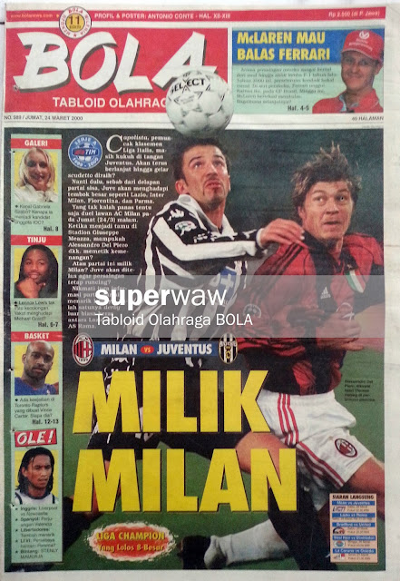 Tabloid BOLA: MILIK MILAN