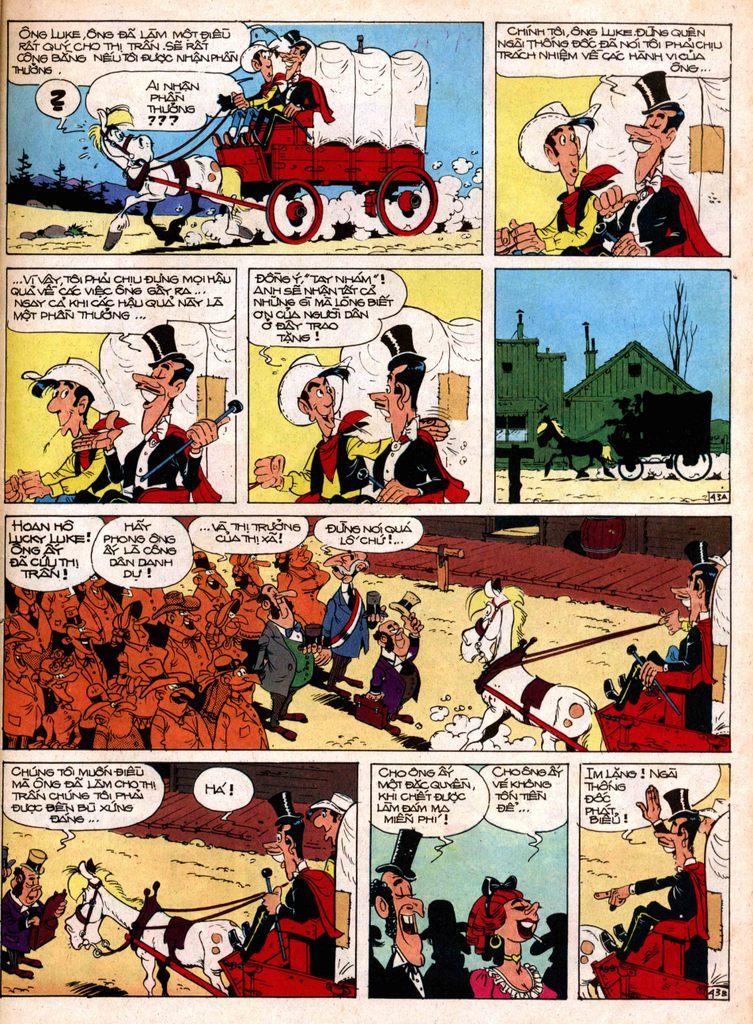 Lucky Luke tap 1 - ban tay nham trang 42