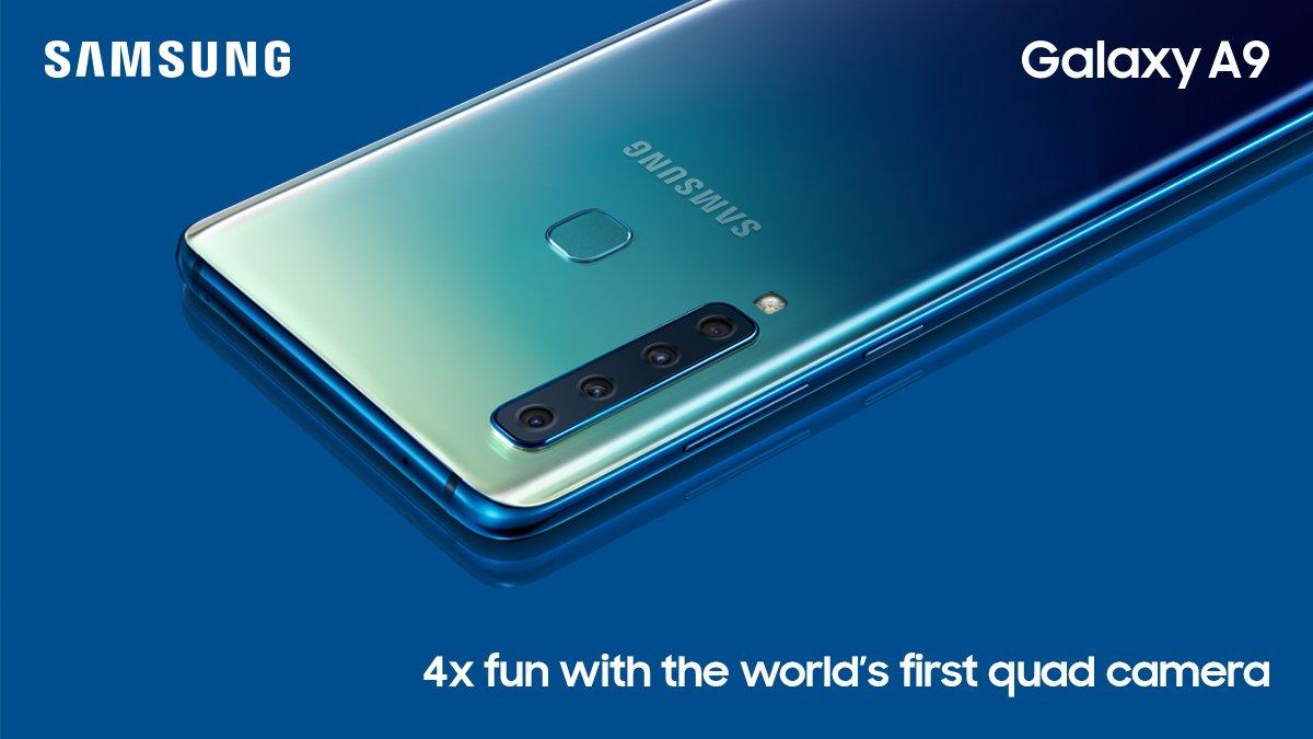 سامسونج تطلق Galaxy A9 (2018) بسعر لا يصدق في السعودية