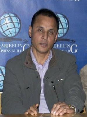 TMC working president N.B. Khawas