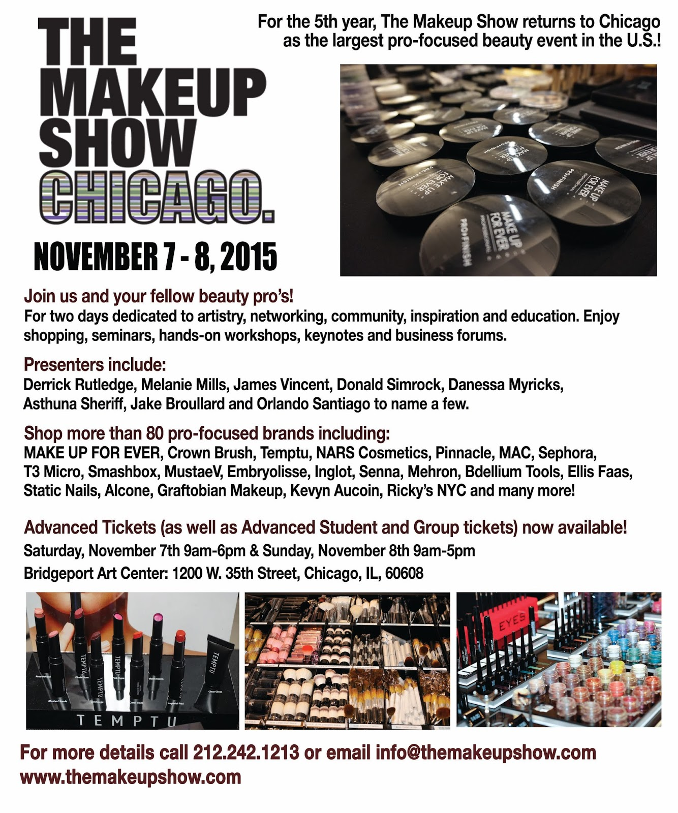 The Makeup Show Chicago 2017