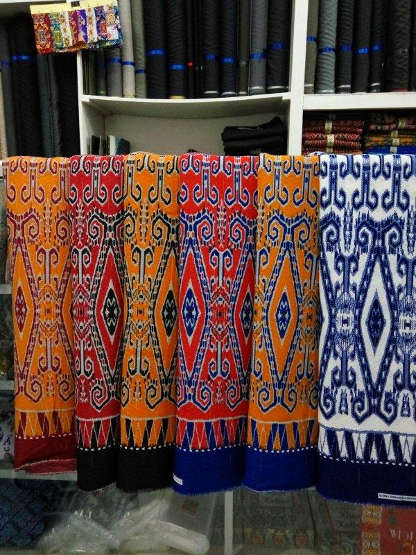 Batik Motif Dayak Khas Kalimantan  Kain Batik Motif Dayak