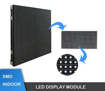 Màn hình led p2 module led nhập khẩu tại quận 4