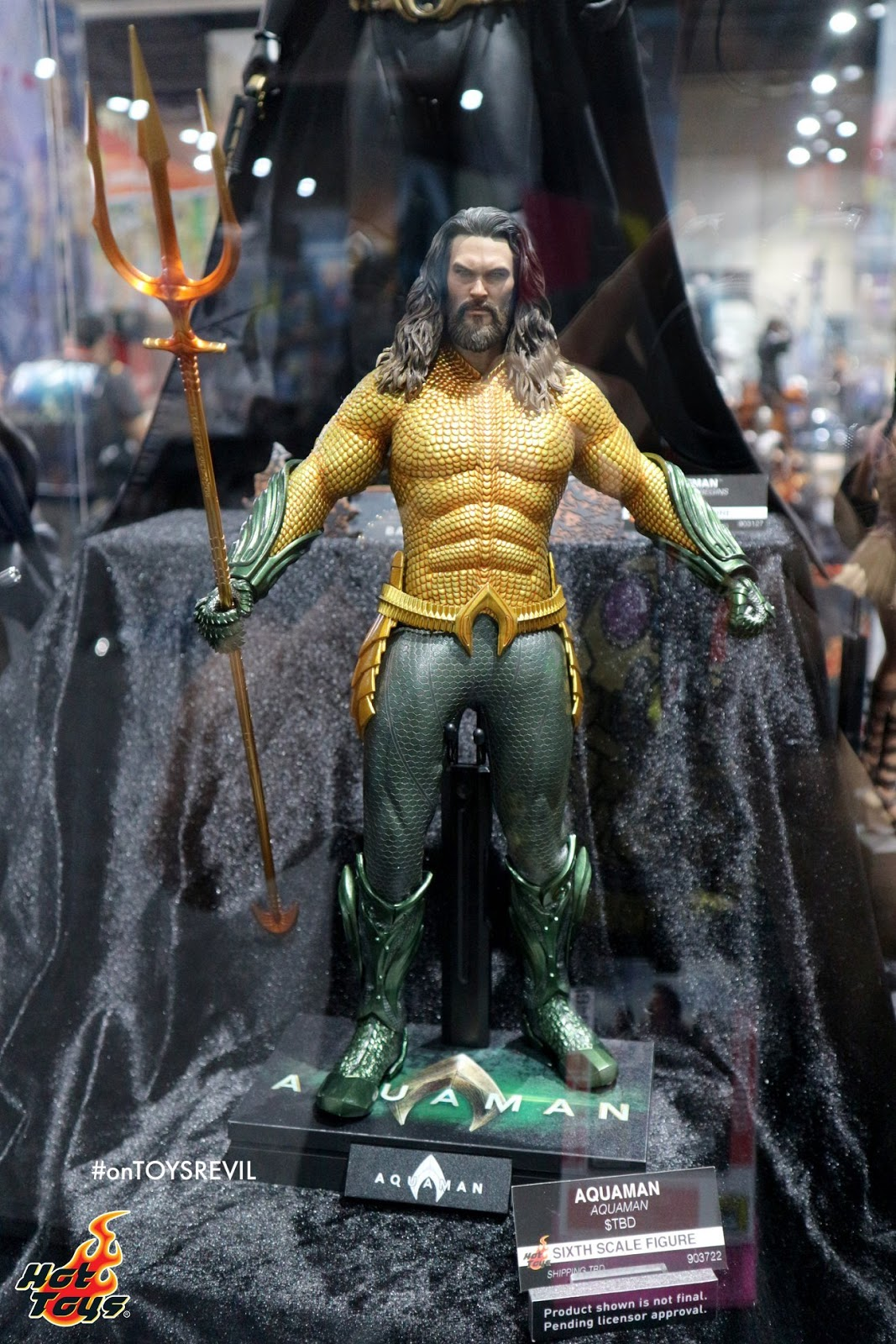 Not Toys For 2018 From Moive : Hot toys sdcc spotlight aquaman in th