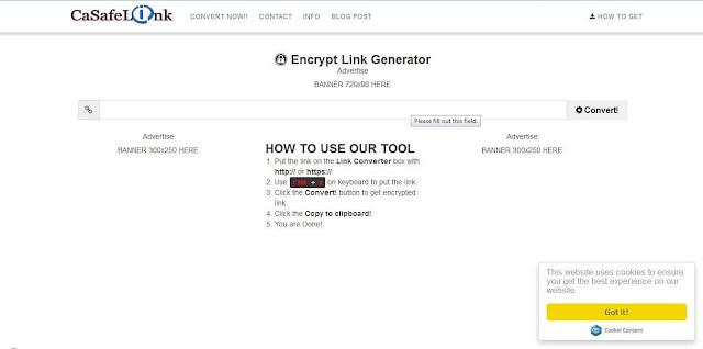 Cara Membuat Blog Safelink di Blogger