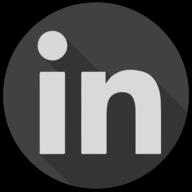 linkedin blackout icon