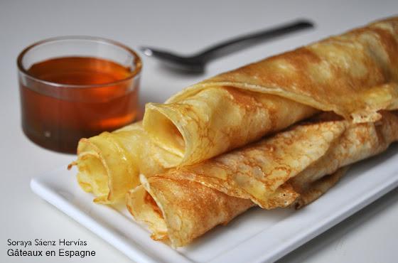 recette crêpes extra fins miel sans beurre