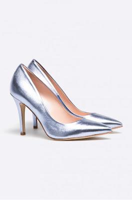 metaliczne szpilki w szpic buty ślubne trendy 2016 najmodniejsze szpilki srebrne