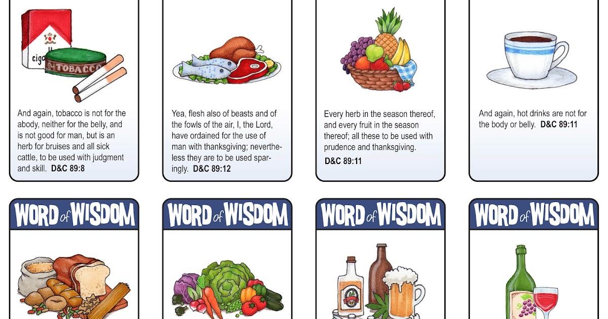 Words Of Wisdom: Susan Fitch Design: Word Of Wisdom Cards