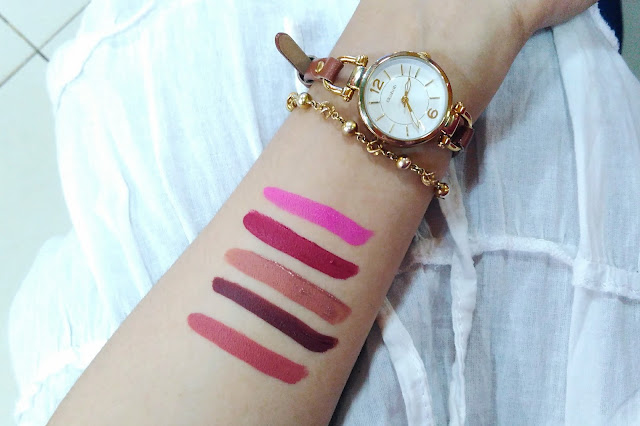 review lip matte my day mazaya