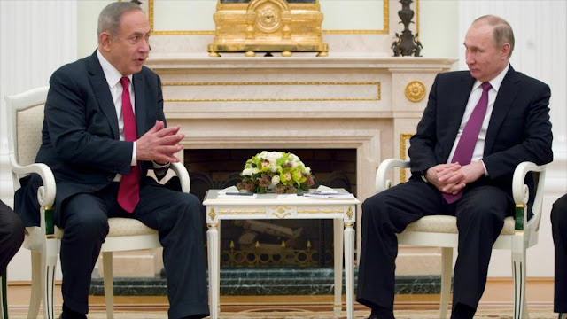 Putin advierte a Israel: su libre actuación en Siria llega al fin