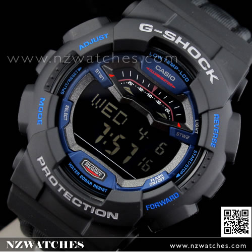 Casio G-Shock G-LIDE CORDURA fabric bands Military Green Watch GLS ... 9eb3c05d0403