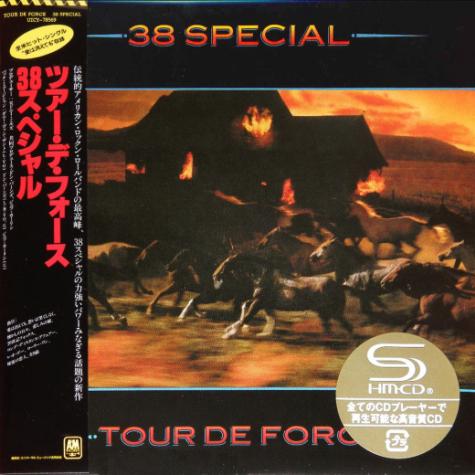 38 SPECIAL - Tour De Force [Japan Ltd. mini LP / SHM-CD remastered] (2018) full