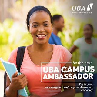 Apply for UBA Campus Ambassador Programme for Undergraduates - 2019