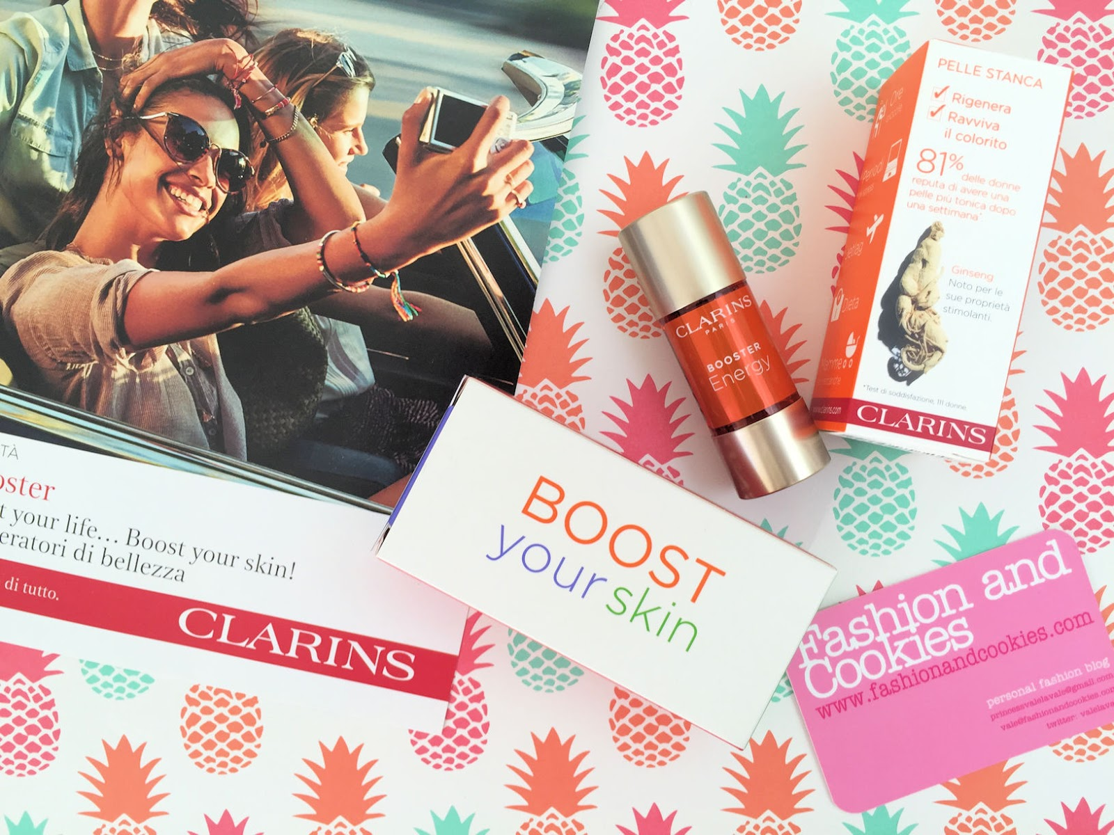 Clarins Booster Energy review on Fashion and Cookies beauty blog, beauty blogger