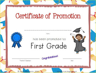 Classroom Certificates to print