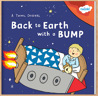 Back to Earth with a bump eBook from Twinkl Resources review