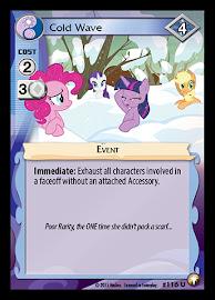 My Little Pony Cold Wave Equestrian Odysseys CCG Card