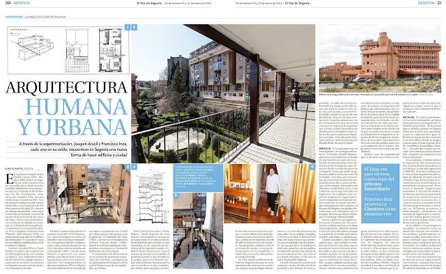 Arquitectura Humana y Urbana @ElDiaSegovia