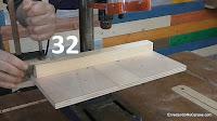 Mesa para taladro de columna con guía de apoyo. http://www.enredandonogaraxe.com