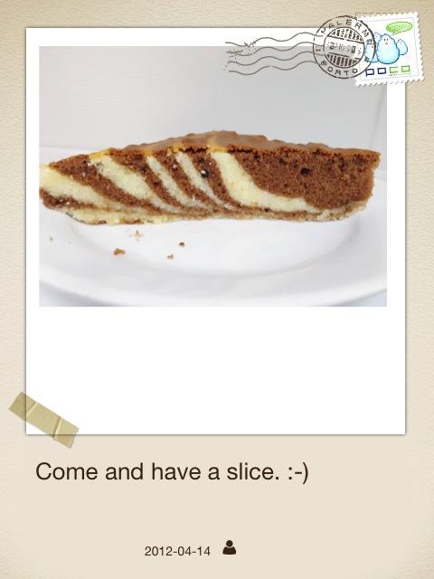 Gw Slice Of Allspice Cake With Ice Cream
