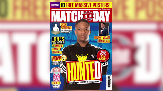 The Journey Alex Hunter returns Match of the Day EA Electronic Arts FIFA 2018 story mode magazine cover